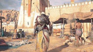Скачать Assassin S Creed Origins Bayek Combat Stealth Kills Free Roam Gameplay Demo