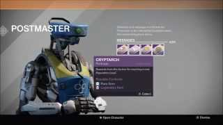 Destiny - Red Death Drop and Reaction - Package Opening