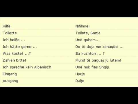 Kostenlos Albanisch Lernen Sofort Bei Youtube Wwwalbanisch Lernende