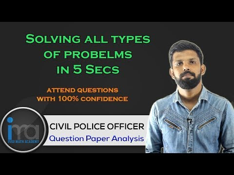Civil Police Officer Previous Questions | Last Minute Tips and Tricks