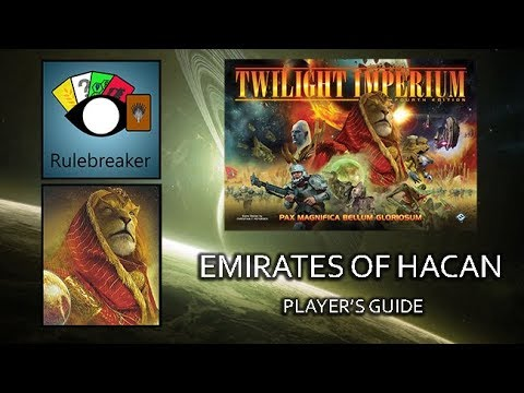 Emirates of Hacan Player's Guide - Twilight Imperium 4th Edition