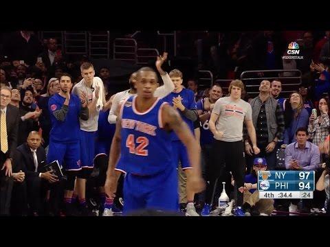 Quarter 4 One Box Video :76ers Vs. Knicks, 1/11/2017 12:00:00 AM