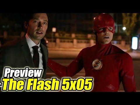 The Flash 5x05 Preview (Sub Español) - GOTHAM CITY Y RAG DOLL