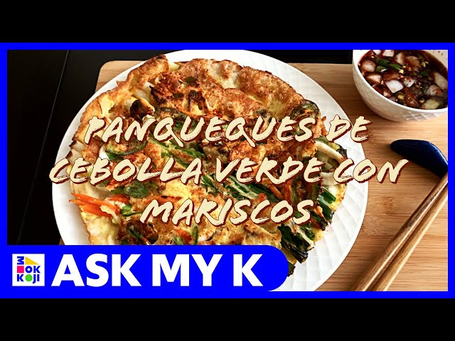 Ask My K : Las Coreanitas - Korean Seafood Pancake Recipe
