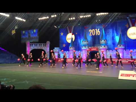 *ORDTTA* UDA High School Nationals (All-Stars) Senior B POM Routine'2016