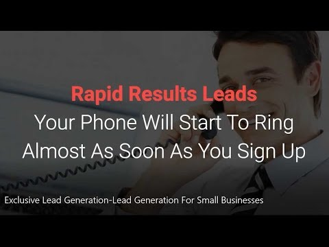 Exclusive Lead Generation Lead Generation For Small Businesses
