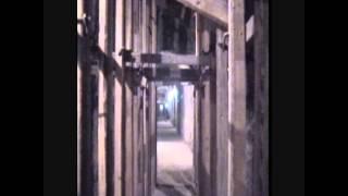 Underground at the Serapeum, the Apis bulls tombs. 1995