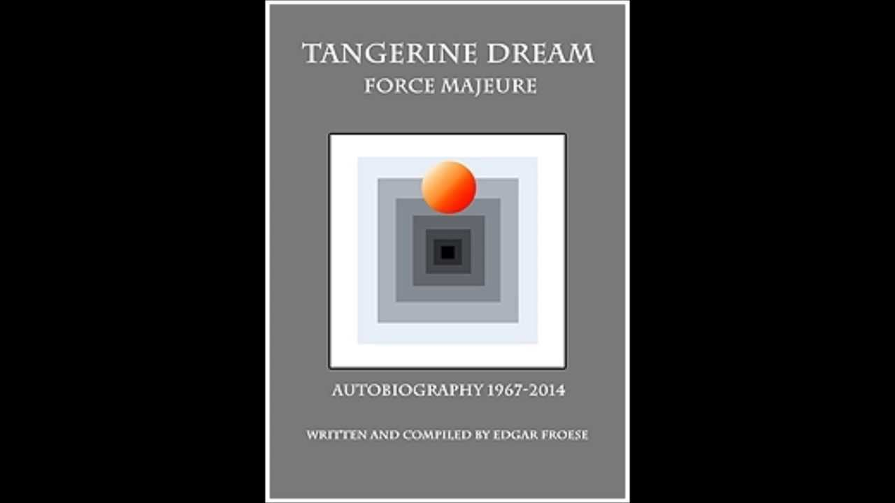 Tangerine Dream - Autobiography 1967-2014 - Book