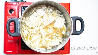 Meat 102  How to Prepare Tripe Boil Shaki