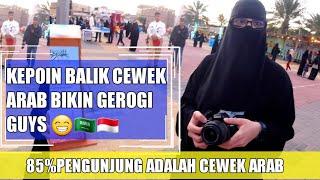 INTIP AKTIFITAS CEWEK ARAB DIAREA BAZZAR