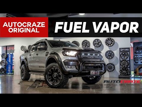 ARMED & READY // Fuel Vapor Rims - Ford Ranger Wheels | AutoCraze 2017