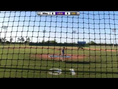LSUA Baseball vs. Wiley College - 4/25/15