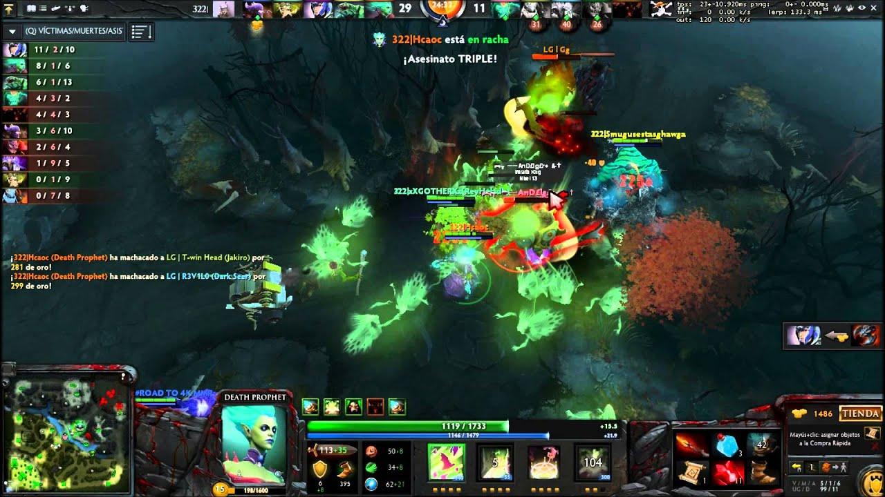 Team 322 Dota 2 Ultra kill