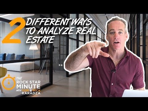 2 Different Ways to Analyze Real Estate