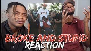 Joyner Lucas - Broke and Stupid (ADHD) - REACTION/DISSECTED