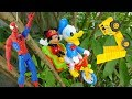Spider-Man, Donald Duck, Mickey Mouse and Cars - H451T Toys for kids