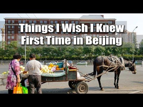 First Time in Beijing: 7 Things I Wish I Knew 第一次去北京:7件我早該注意的事