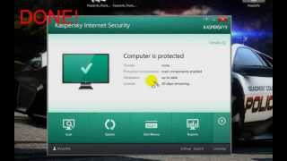 Kaspersky Inter Security 2014 Reset Trial