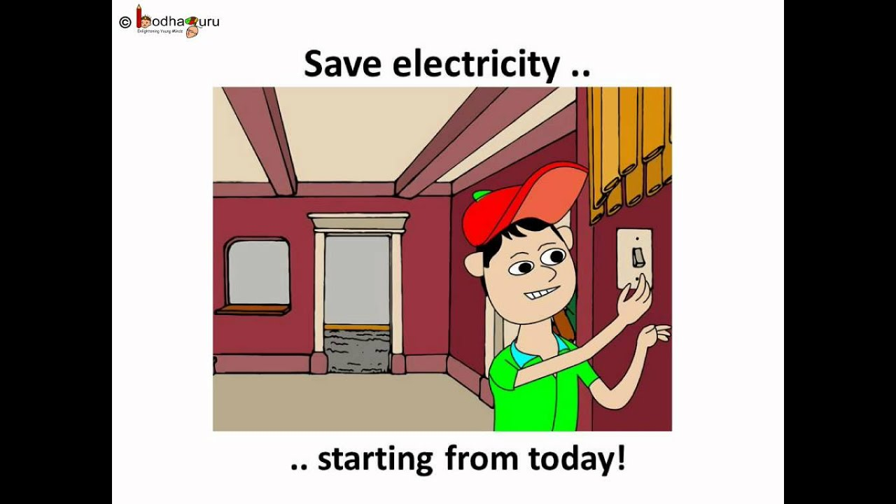 Science - Electricity - Why and how to conserve electricity - English