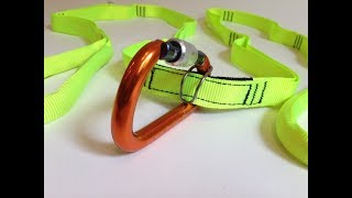 The Multi Loop Rescue Strap with Carabiner
