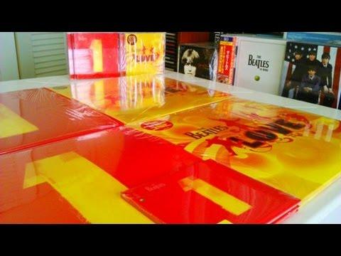 The Beatles - 1 Album and Love Vinyl Unboxing 2014