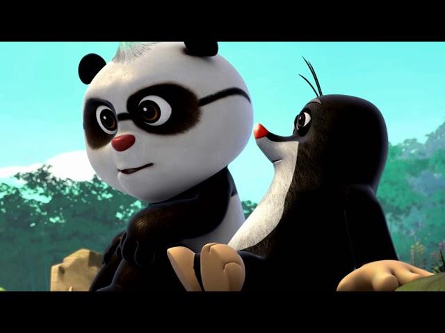 Krtek a panda epizoda 23 - Párty černobílýcch zvířátek
