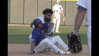 Zeke Mic'd Up at Dirk's Celebrity Baseball Game | Dallas Cowboys 2018