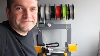 Bq Hephestos V2 3D Printer - Upgrades and kit build Jan2016