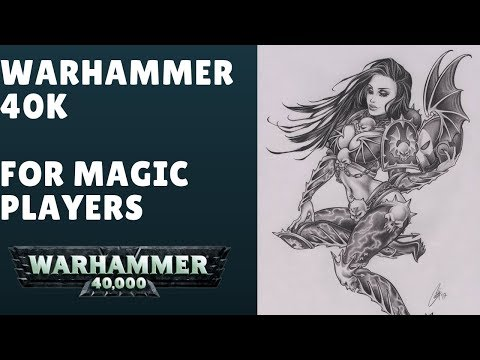 Warhammer 40K To Magic Players Interview w/ @archwarhammer