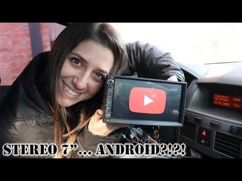 Stereo 7' con ANDROID para el Vectra