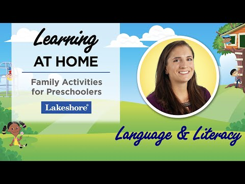 Language and Literacy Activities for Preschoolers