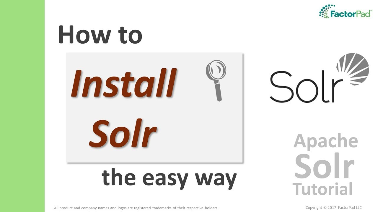 install solr 7 - the 5 steps to an easy apache solr installation