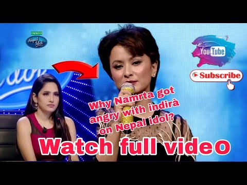 Namrata shrestha performing song on Nepal idol season 2
