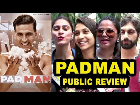 Padman Movie Review Public Review- First Day First Show- Akshay Kumar, Sonam Kapoor, Radhika Apte
