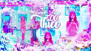 ⊹ · ✧❝𝐓𝐑𝐄𝐌𝐄𝐍𝐃𝐎𝐔𝐒𝐋𝐘 𝐓𝐎𝐎 𝐓𝐇𝐈𝐂𝐂::❞ miracle slim thick✧