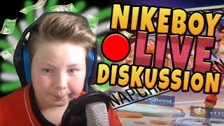 Firegoden diskutiert LIVE mit Nikeboy über Scam-Aktion