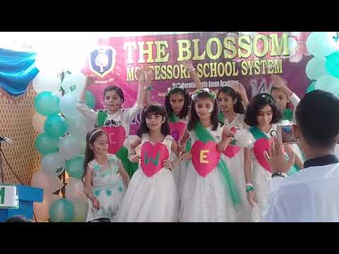 Welcome performance by blossom montessori school