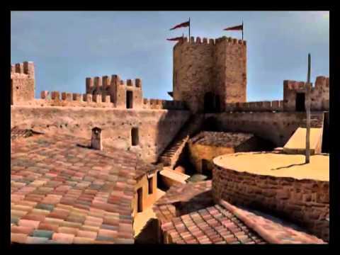 Castillo de burgalimar en ba os de la encina ja n youtube - Castillo de banos de la encina ...