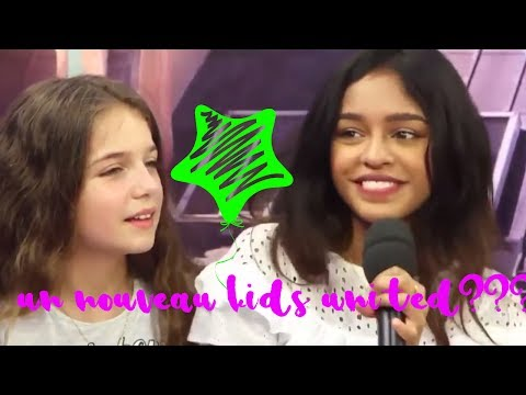 KIDS UNITED: UN NOUVEAU INTEGRE LE GROUPE ?? REVELATIONS