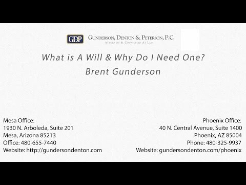 Arizona probate lawyers gunderson denton peterson watch this video on youtube solutioingenieria Image collections