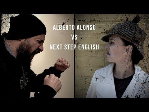Alberto Alonso vs. Next Step English - Music battle/drinking game