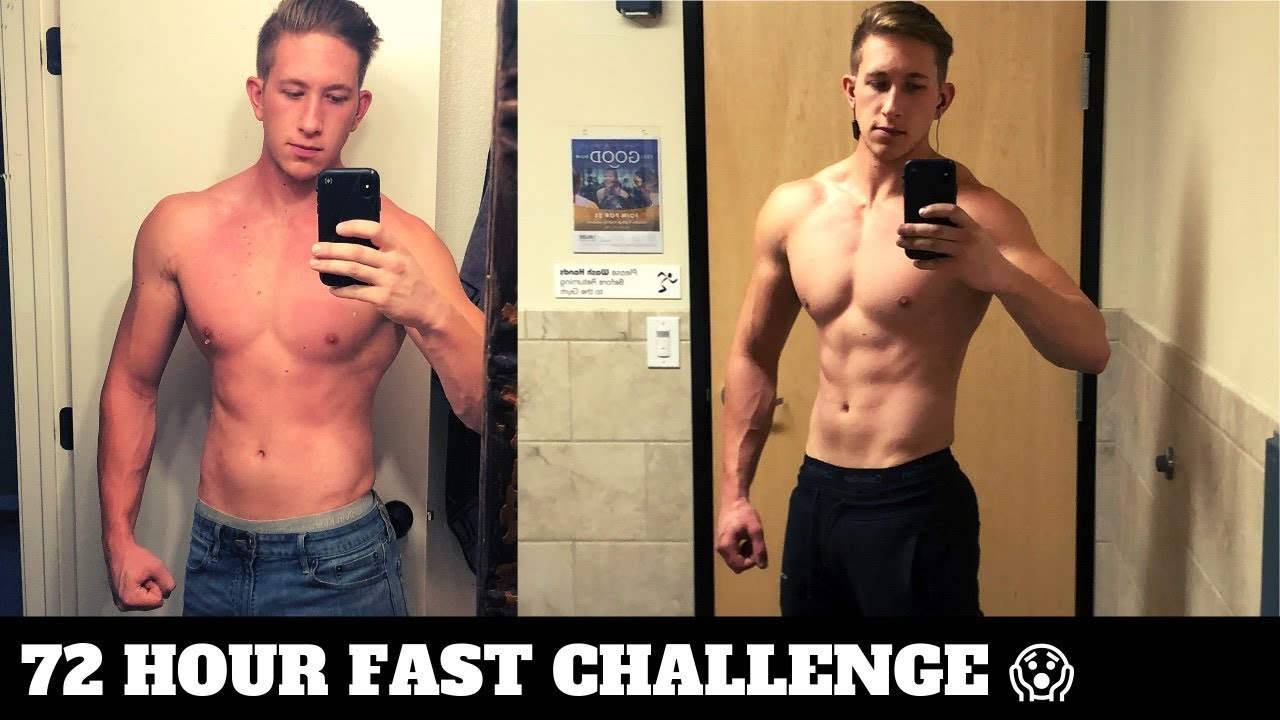 72 HOUR FAST CHALLENGE! CRAZY RESULTS! 72 Hour Fast Before and After