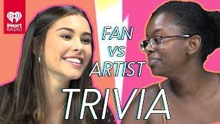 Madison Beer Challenges Super Fan In Trivia Battle | Fan Vs. Artist Trivia
