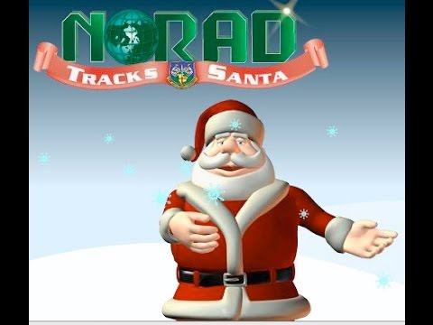 NORAD Track Santa Live Stream 2016