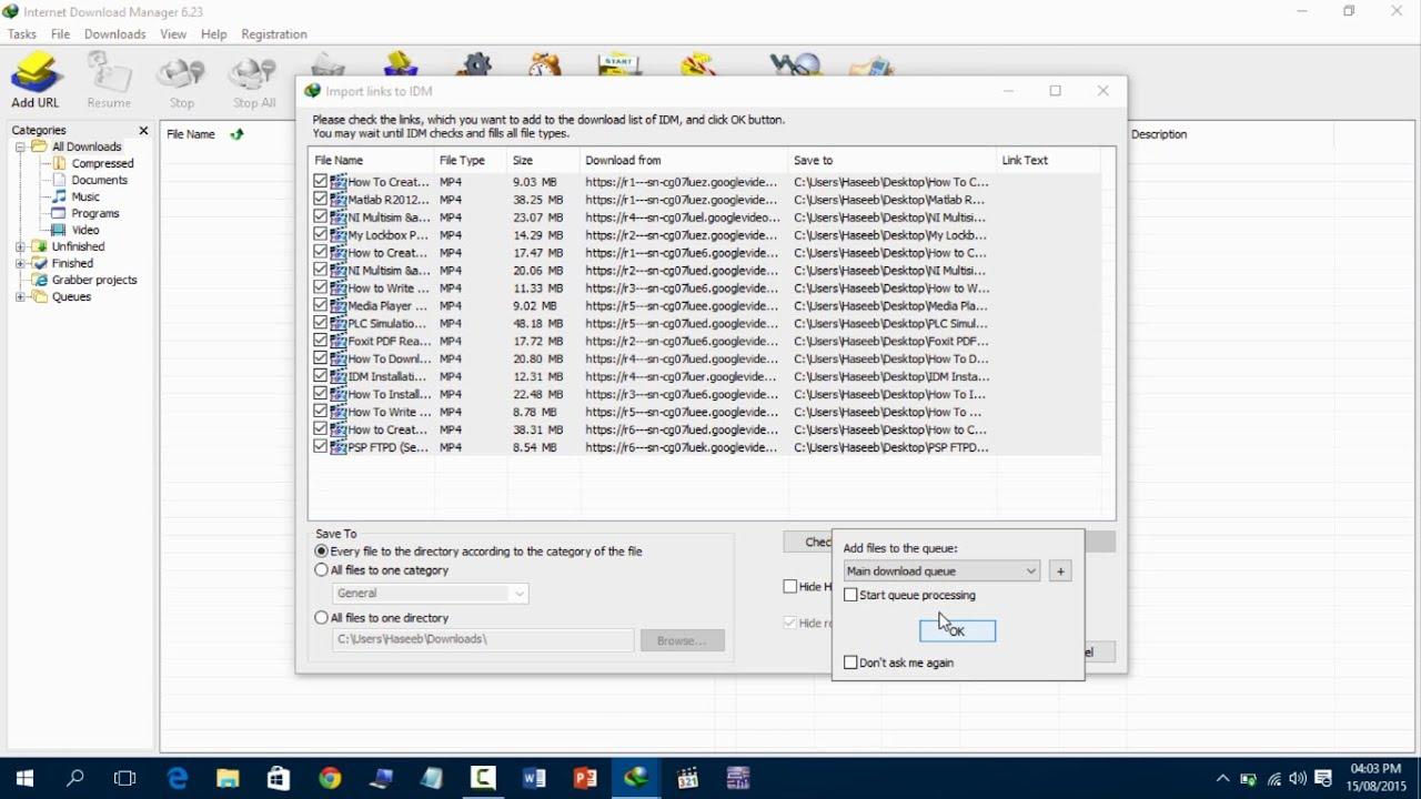 Скачать файлы из ютуба