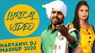 Jija Tu Kala Lyrical Video | Masoom Sharma,Ruchika Jangid | Haryanvi Mashup |New Haryanvi Songs 2020