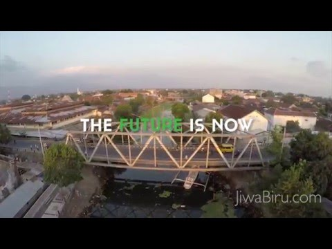 The Ampenan Trash Wheel Project & Healthy River Park Lombok -English