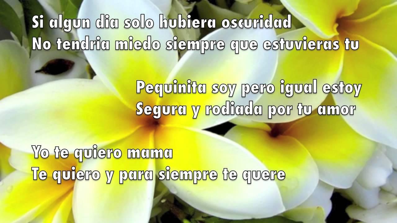 Mami te traigo flores - YouTube