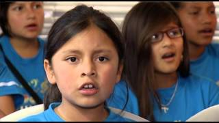 Niños Cantores del Pueblo - reportaje por el Dia Del Niño, Cafe ...