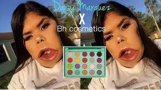 Daisy Marquez X bh cosmetics look 2